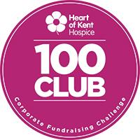 Heart of Kent Hospice 100 Club Logo