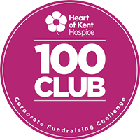 Netbox Recruitment, Heart of Kent Hospice 100 Club Member, Logo