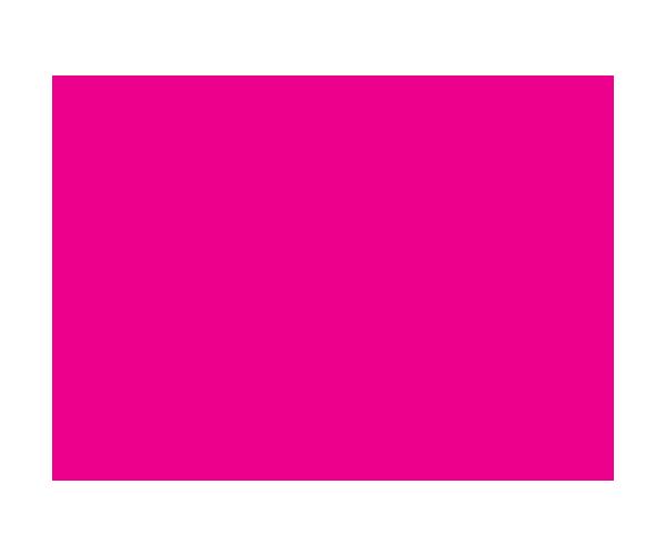 Client handshake icon, pink