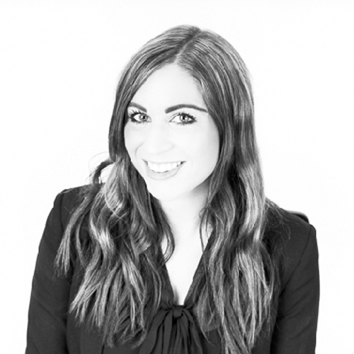 Sian Parrish, Recruitment Business Partner, Netbox Recruitment, black and white portrait photo