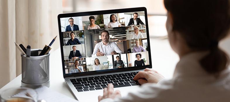 video call laptop