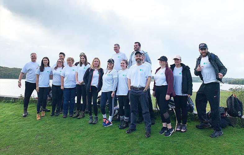 Netbox Recruitment and Netbox Digital charity walk